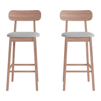 Piccolo Bar Stool Set of 2