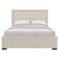 Celine Gas Lift Queen Size Bed Frame