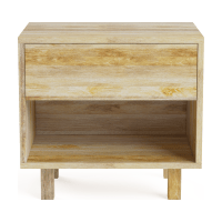 Bruna Bedside Table
