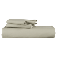 Pima Cotton Pumice Duvet Cover Set