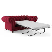Notting Hill Velvet Chesterfield 2 Seater Sofa Bed