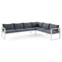 Malibu Outdoor 6 Seater Modular Sofa