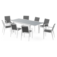 Thornton - Malibu Extendable 8 Seater Outdoor Dining Set