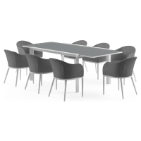 Matheson - Malibu Extendable 8 Seater Outdoor Dining Set