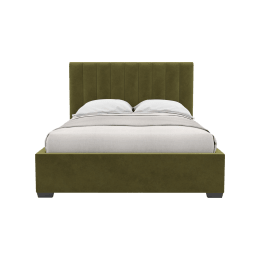 9f437173a5885 Zoe · Megan gas lift queen size bed frame 25 product front