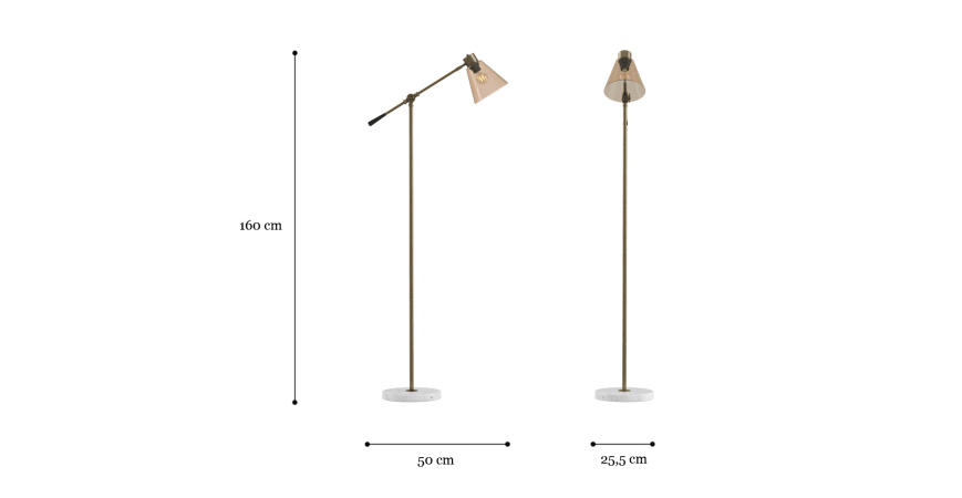 Hirudo Floor Lamp