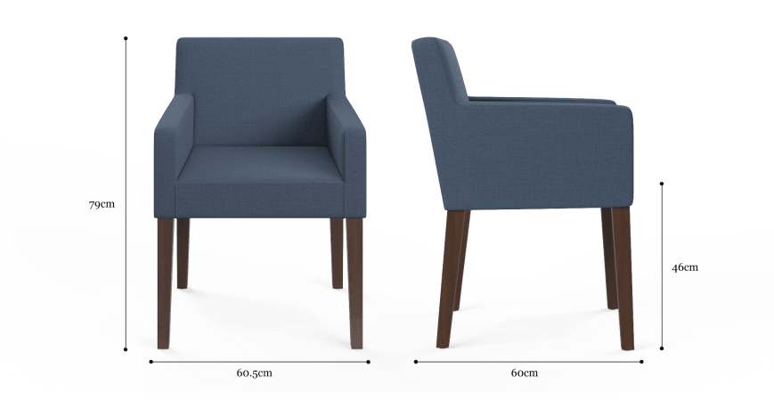 Jesper Dining Chair with Armrest