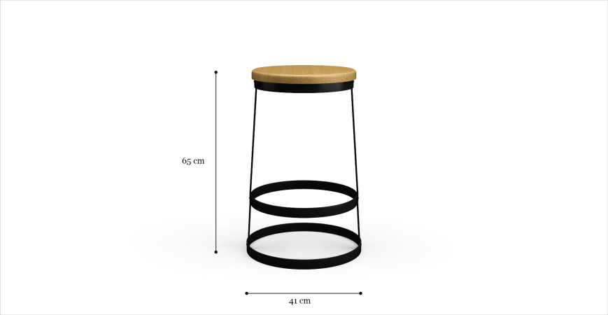 Pinchin Bar Stool Low
