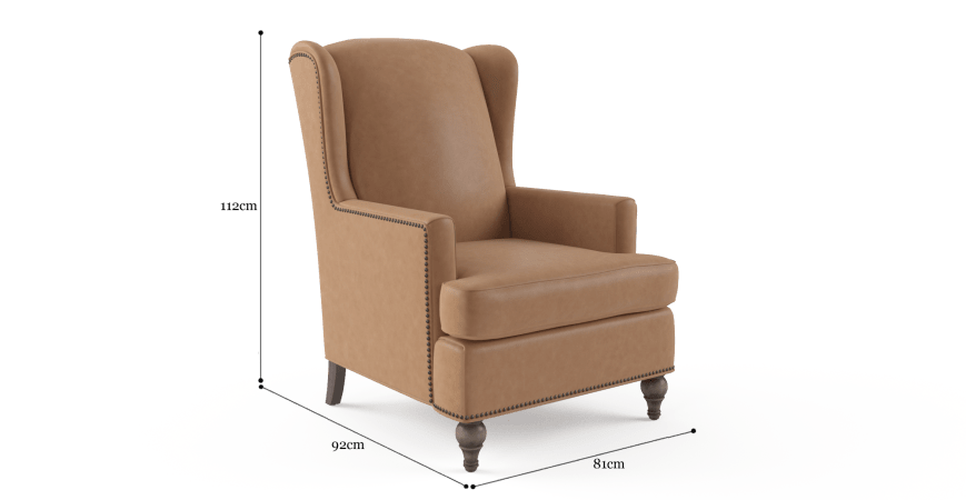 Charles Leather Armchair