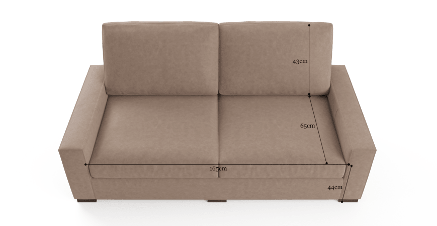 Manhattan Leather 3 Seater Sofa