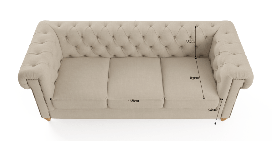 Giverney 3 Seater Sofa