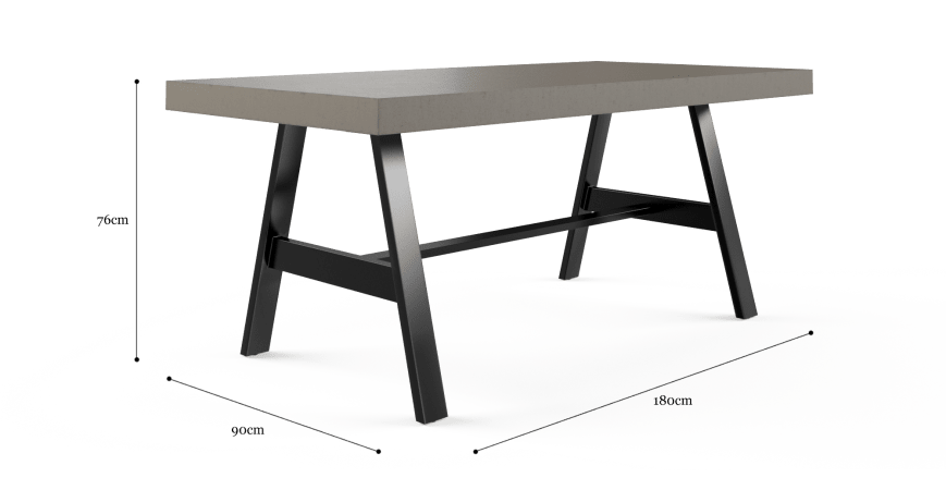 Smeaton Outdoor Dining Table 180cm