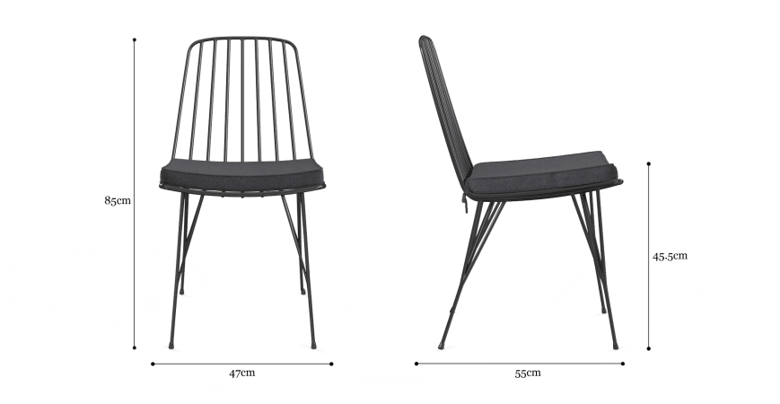 Smeaton Outdoor 2x Dining Chair