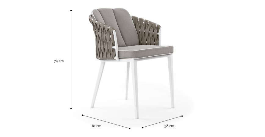 Mandalay Outdoor Dining Chair