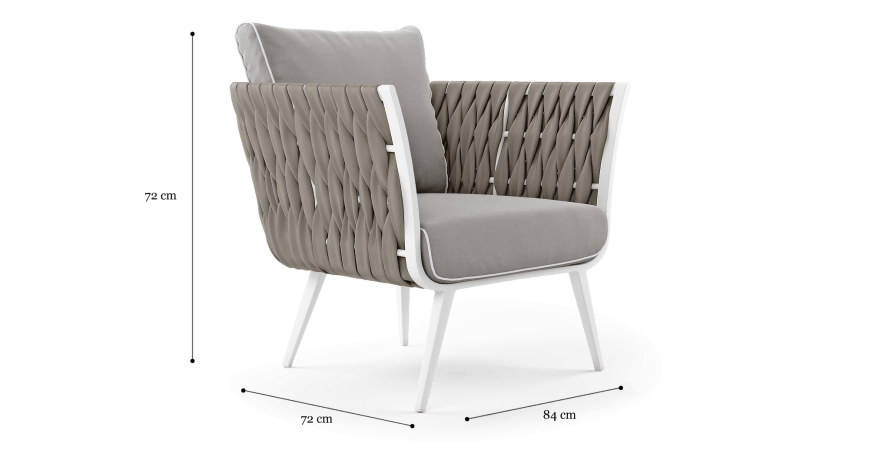 Mandalay Outdoor Lounge Chair