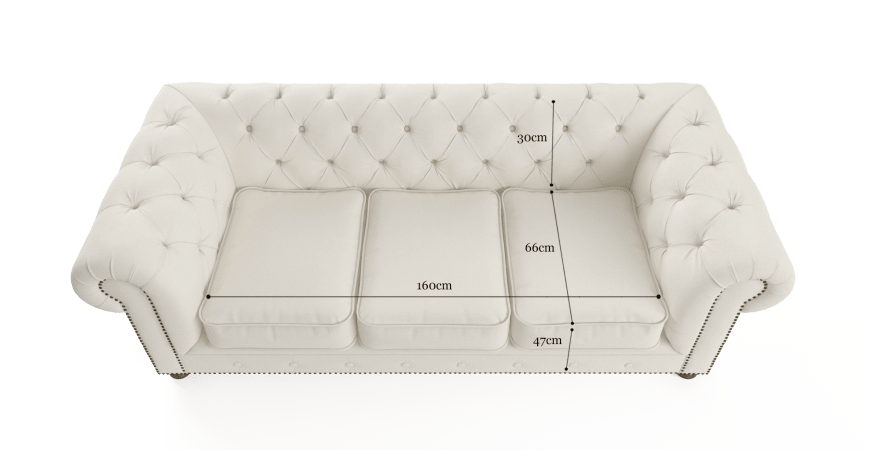 Camden Chesterfield 3 Seater Sofa Bed