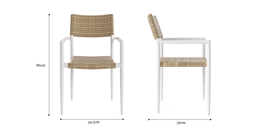 Nelayan Outdoor Patio Dining Set