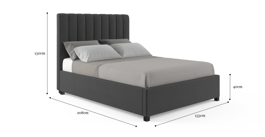 Megan Double Size Bed Frame