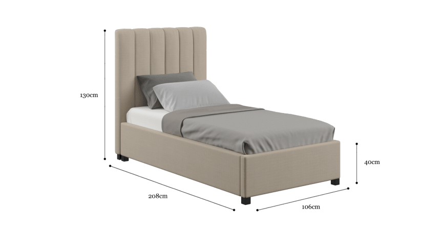 Megan Single Gaslift Bed Frame