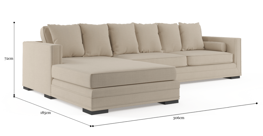 Ellington 4 Seater Modular Sofa with Chaise