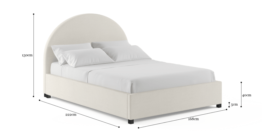Arch Queen Gaslift Bed Frame