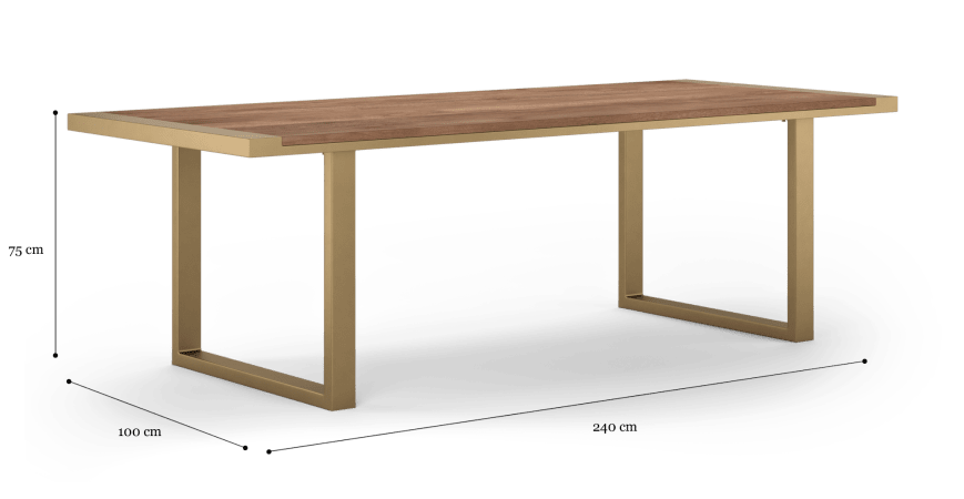 Artemis Dining Table 240cm