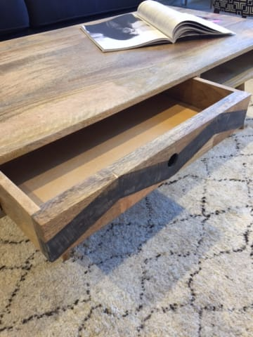 Potter coffee table natural mango wood 03