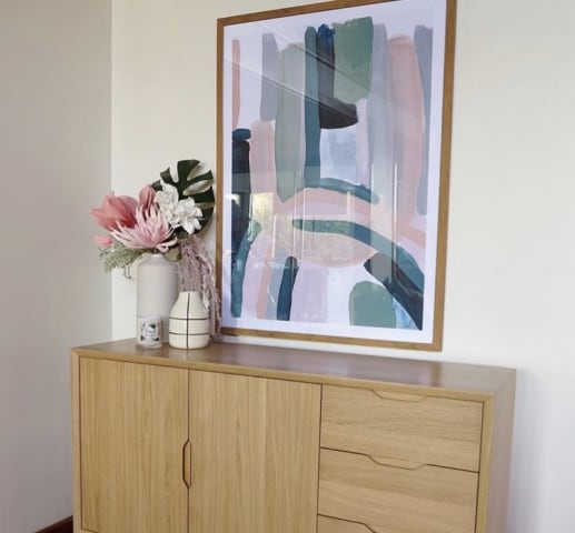 Elizabeth sideboard natural oak 03