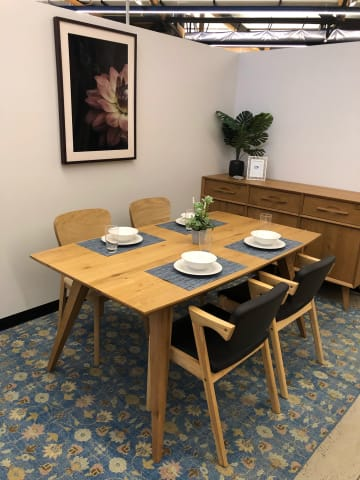 Hans 165cm dining table 05