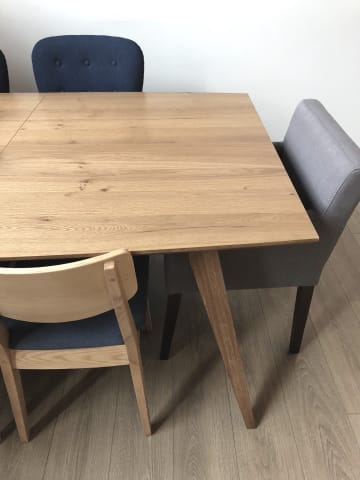 Hans 220cm extendable dining table 01