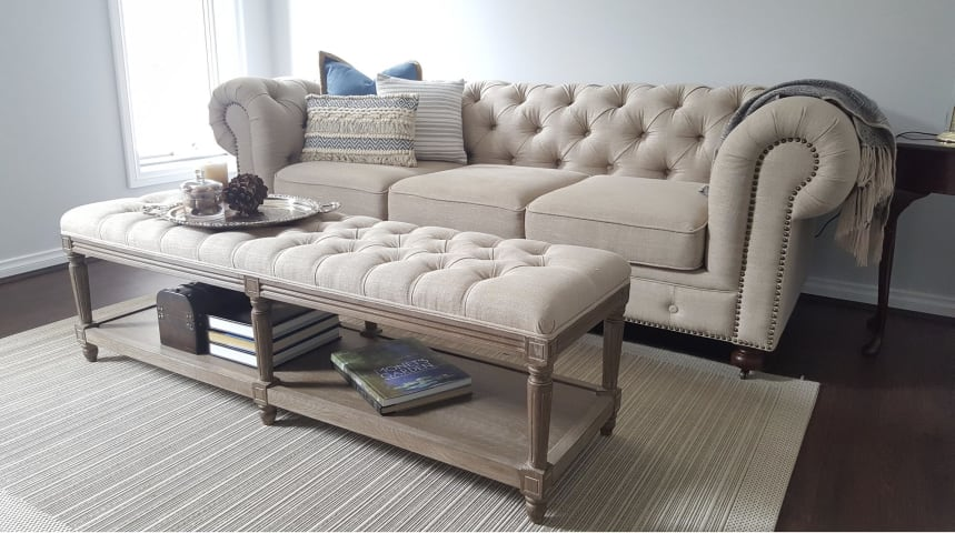 Camden chesterfield 3.5 seater sofa french beige 07