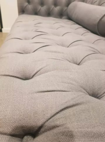 Mondello 2 seater sofa stone grey 02