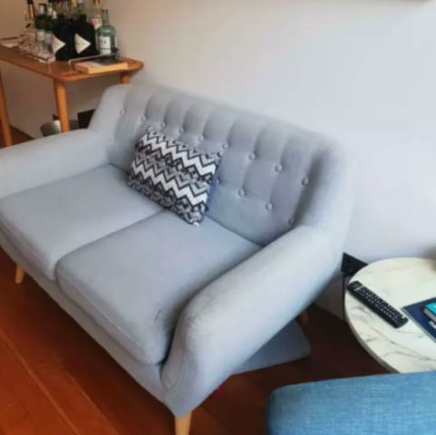 Shelly 2 seater sofa storm grey 01