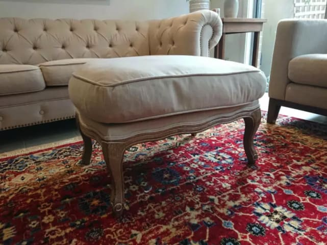 Philippe ottoman french beige 02