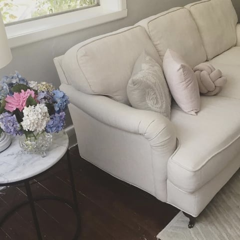 Amelia 3 seater sofa classic cream 01