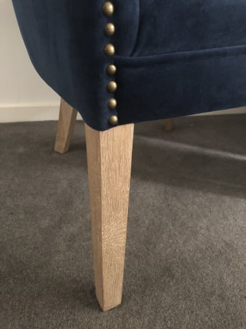 Gigi accent chair indigo 02