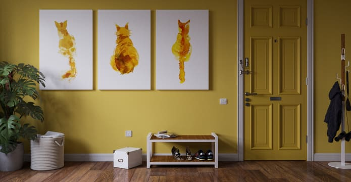 The Tabby Triptych Set of 3