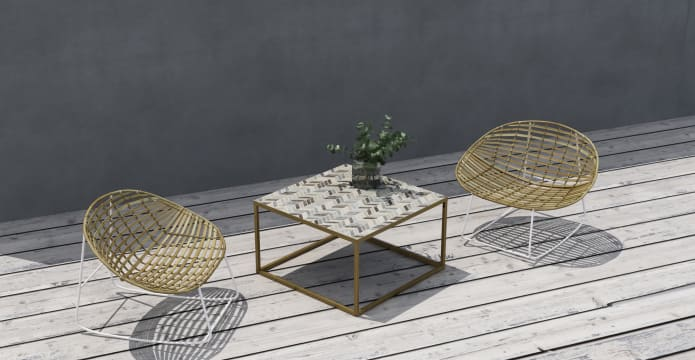 Penn Outdoor Coffee Table