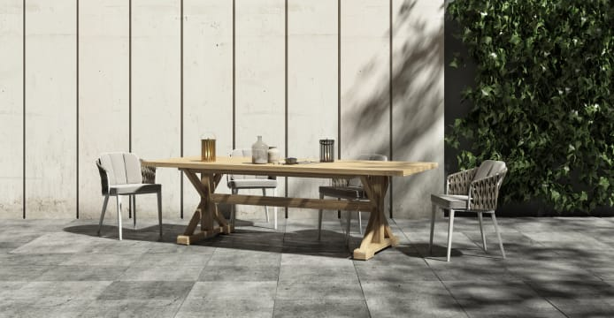 Chablis Outdoor Dining Table