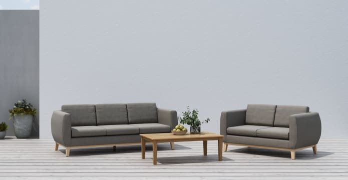 Corfu Outdoor 3 Seater Sofa