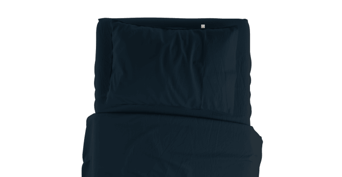 Pima Cotton Insignia Blue Standard Sheet Set