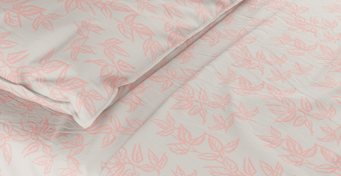 Soft Leaves Standard Sheet Set