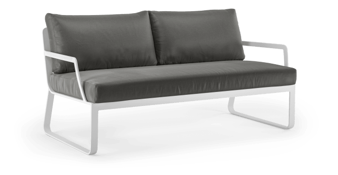 Lummus Outdoor 2 Seater Sofa