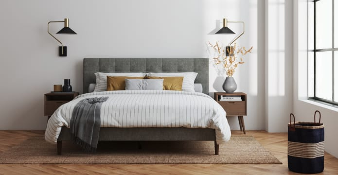 Richmond Queen Slim Bed Frame