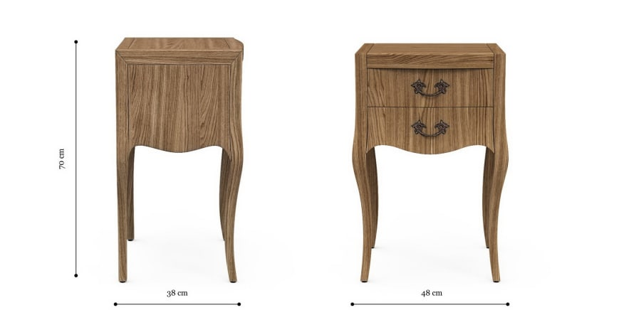 Arabella Bedside Table
