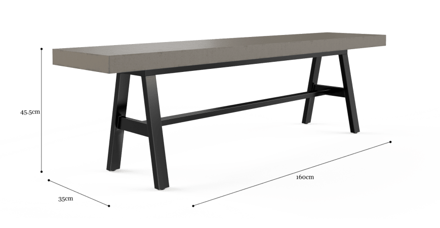 Smeaton Outdoor Dining Bench