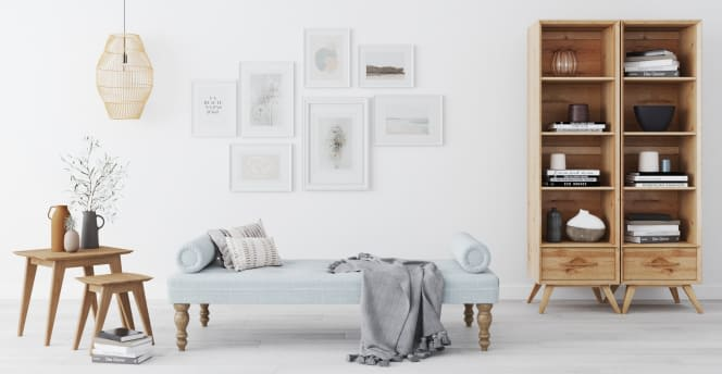 Living Room Furniture Styles - Daybed Scandinavian