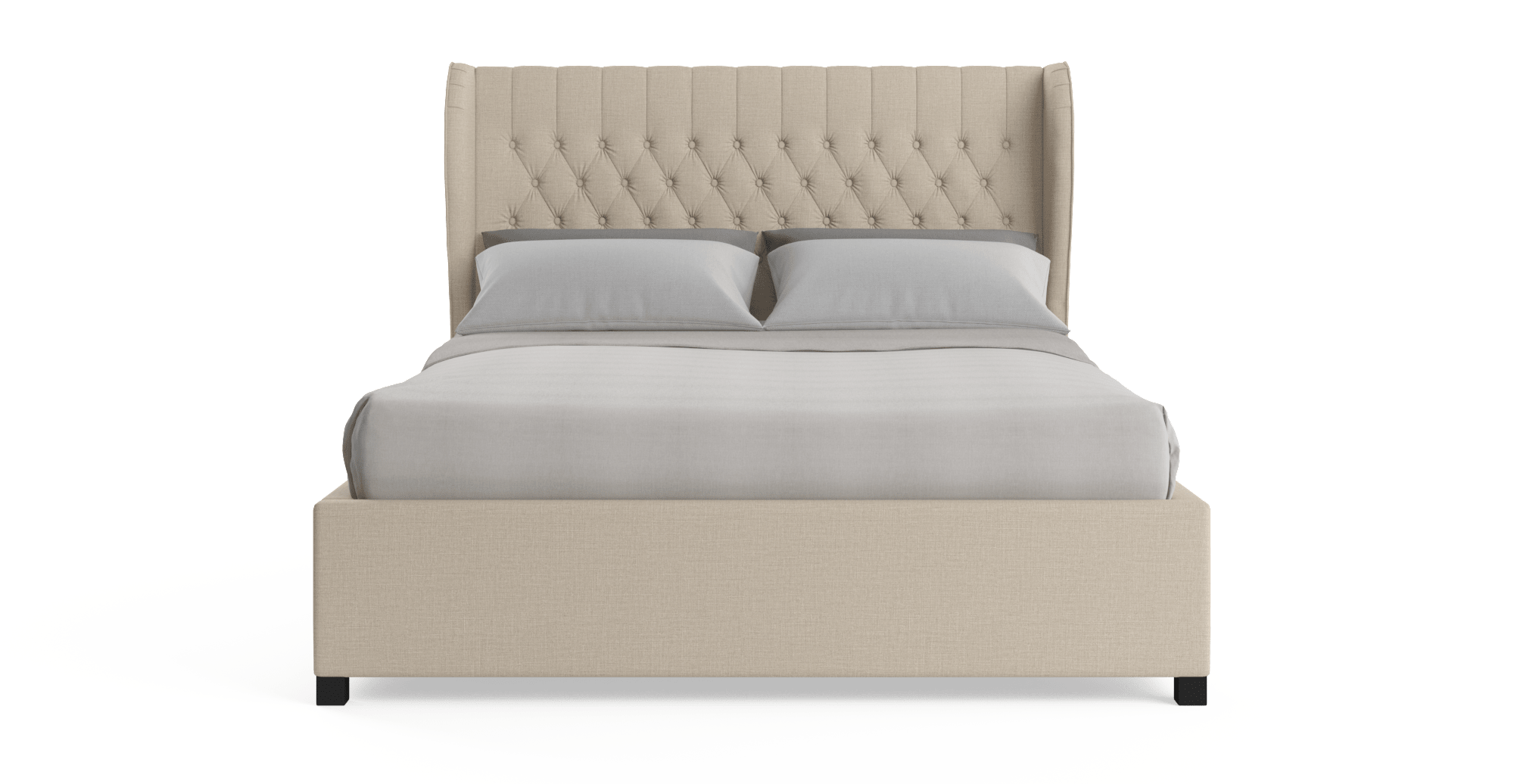 Buy Anica Gas Lift Queen Size Bed Frame Online in Australia | BROSA
