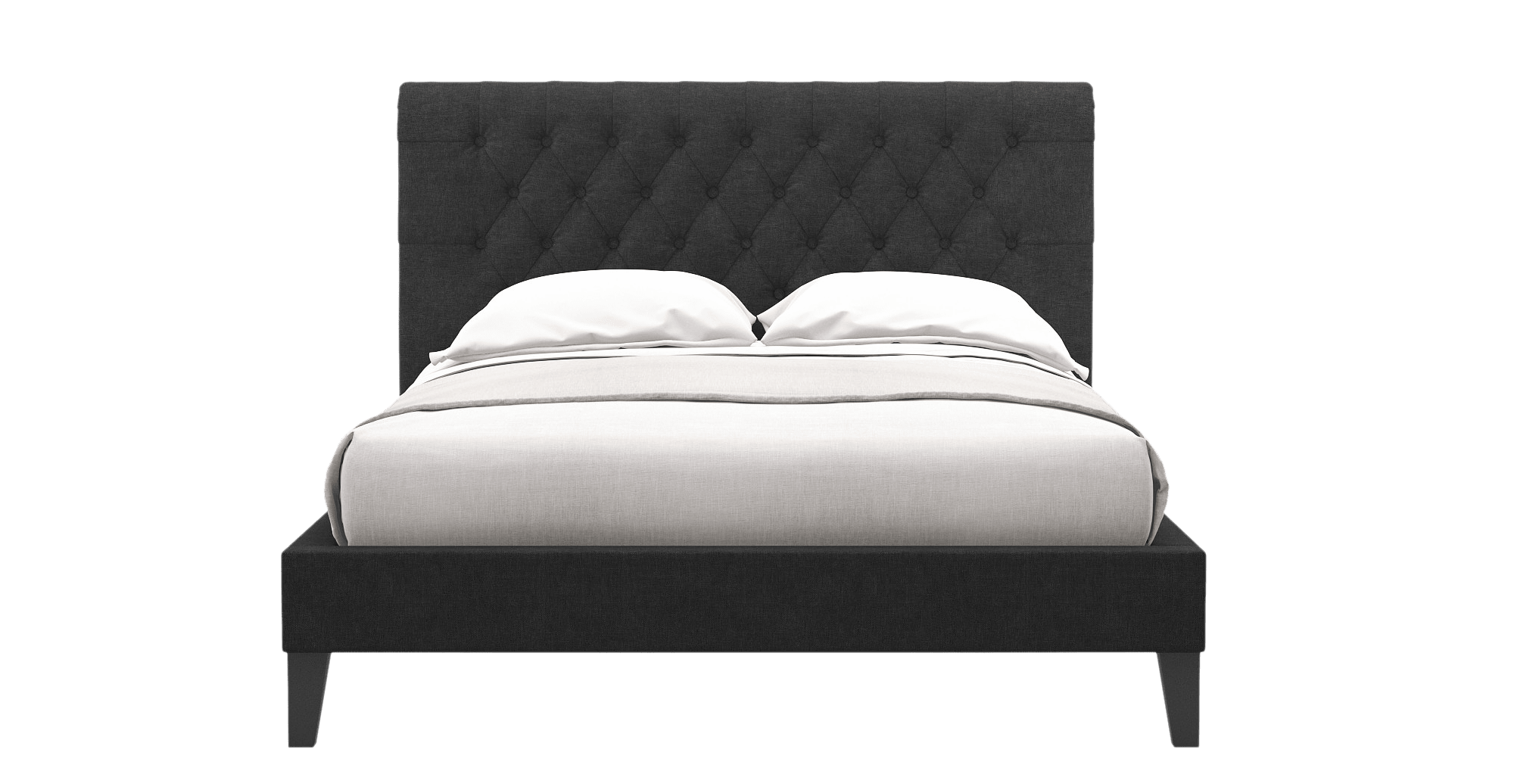 pillow overstock shipping free inch frames bed nuform mattress home size top quilted today queen foam plush garden product