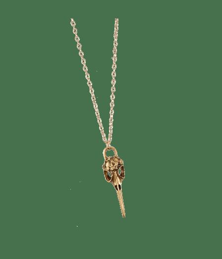 Raven Pendant Necklace